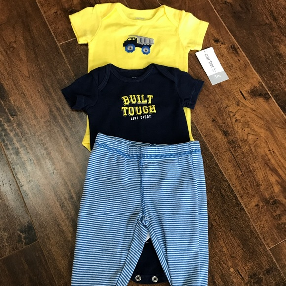 f63de86f2 Carter's Matching Sets | Carters 3 Mo Boy 3 Piece Outfit | Poshmark